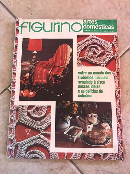 Revista Figurino Culinária 12 Bordados Tapeçaria Manual D195