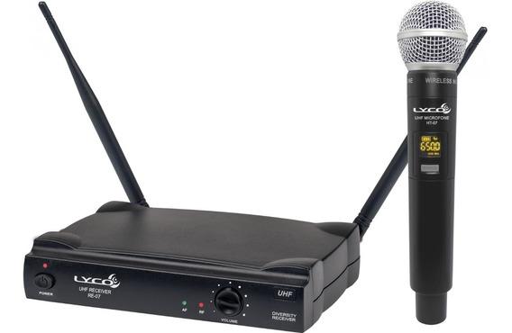 Microfone Sem Fio Uh07m Lyco