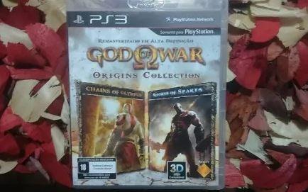 God Of War: Origins Collection Hd - Mídia Física Ps3
