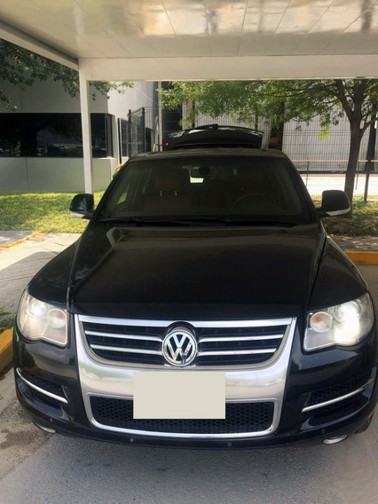 Blindada 2008 Vw Touareg V8 Gasolina Nivel 4 Blindados