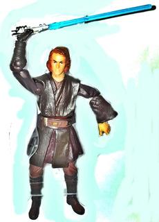 Muñeco Star Wars Anakin Skywalker Articulado Marca Hasbro