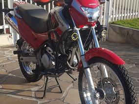 Moto Falcon Nx 400 Vermelha Ano 2005