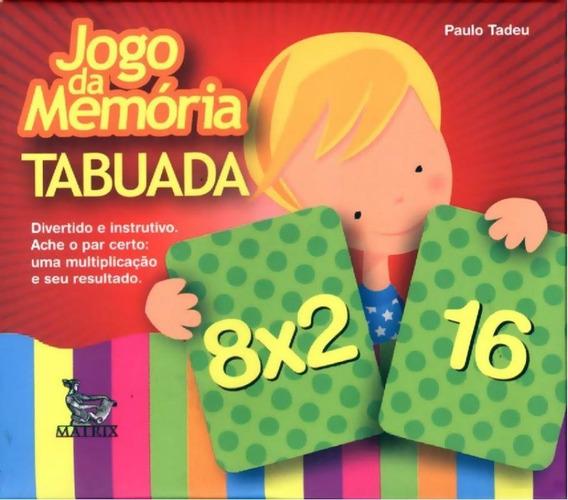 Jogo Da Memoria - Tabuada