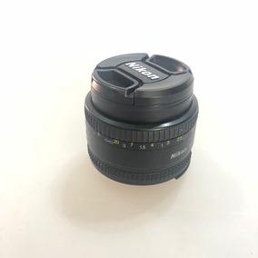 Lente Nikon 50mm Af F/1.8d
