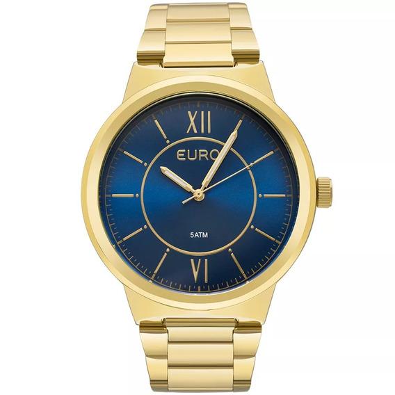 Relógio Euro Unissex Dourado Eu2036yea/4a