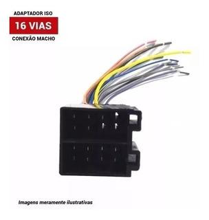 Chicote Soquete Macho 16 Vias Universal Conector