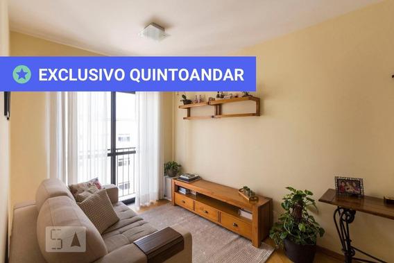 Apartamento No 10º Andar Com 2 Dormitórios E 1 Garagem - Id: 892966612 - 266612
