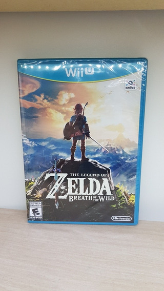 The Legend Of Zelda Breath Of The Wild Wii U Novo Lacrado