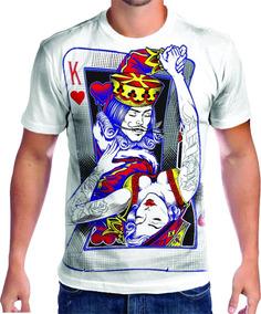7eee5a1c8 Camisa Personalizada Carta De Baralho