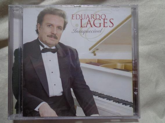 Cd Eduardo Lages Inesquecível (novo) Maestro Roberto Carlos
