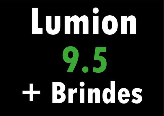 Lumion 9.5 + Brindes