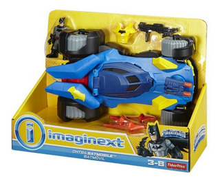 Batimovil Imaginext Dc Super Friends Fisher Price Rre Dht64