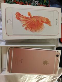 iPhone 6s Plus 32gb Rosê Gold,tela 5,5 Câmera 12 Mp