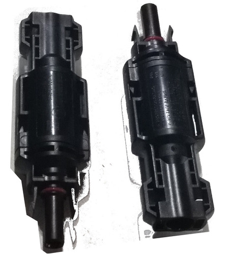 Imagen 1 de 2 de Conector Mc4 Con Fusible 15a 1000vdc Incorporado