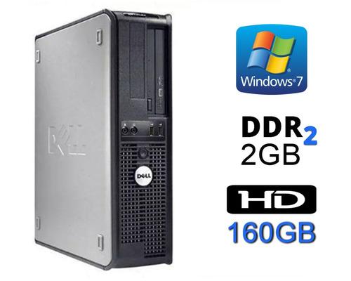 Computador Pc Cpu Dell 360 Core 2 Duo 1,8ghz 160gb 2gb Win10