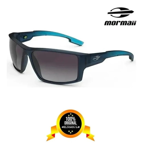 Imagem 1 de 8 de Óculos De Sol Mormaii Joaca 4 Azul | Nf & Envio Imediato