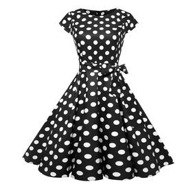 Vestido Vintage Retro +envío Gratis