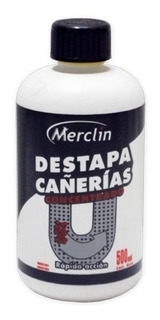 Destapa Cañeria Concentrado Merclin 500ml