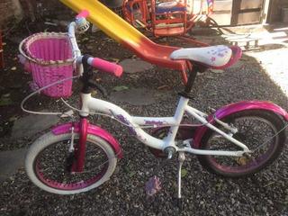 Bicicleta Raleigh Niña, Rodado 16 En Excelente Estado.