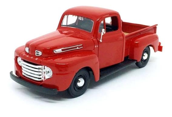 Miniatura Ford F-1 Pickup 1948 Vermelho Maisto 1/25