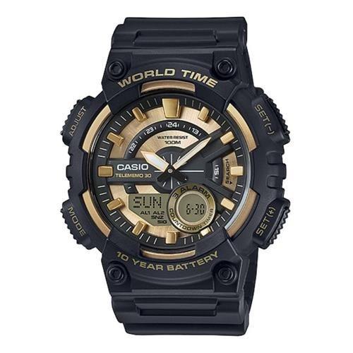 Relógio Casio Aeq-110bw-9avdf Preto