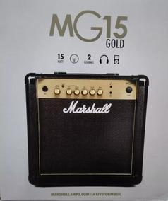 Amplificador Caixa De Guitarra Marshall Mg 15 Cf Gold-15watt