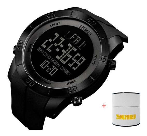 Relógio Masculino Esportivo Original Com Caixinha Aproveite