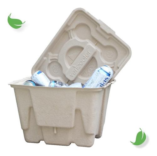 Imagen 1 de 6 de Hielera Ecológica. Reusable Y 100% Reciclable.