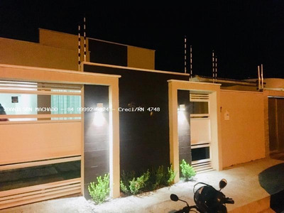 Casa Para Venda Em Açu, Novo Horizonte/ipe - Casa Em Via Pública, 3 Dormitórios, 1 Suíte, 3 Banheiros, 2 Vagas - Cas1097-ipe Assú
