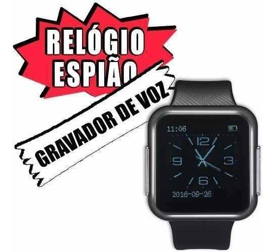Relogio Digital Pulso Masculino Mp3 Com Gravador De Voz Be6