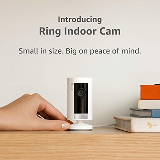 Ring Introducing Indoor Cam, Compact Plug-in