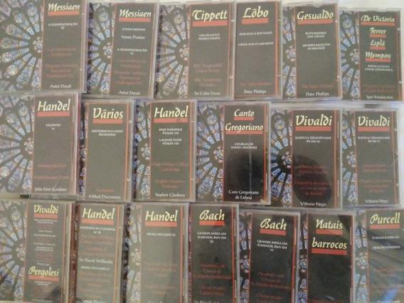Coleção Cds De Música Sacra Com Lindo Folheto
