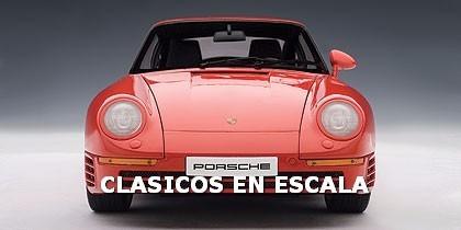 Porsche 959 - Espectacular Supercar Clasico - Autoart 1/18