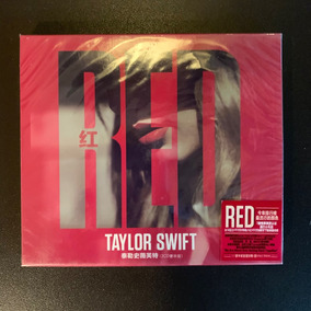 Cd Duplo Taylor Swift Red Deluxe Chinês - Com Slipcase