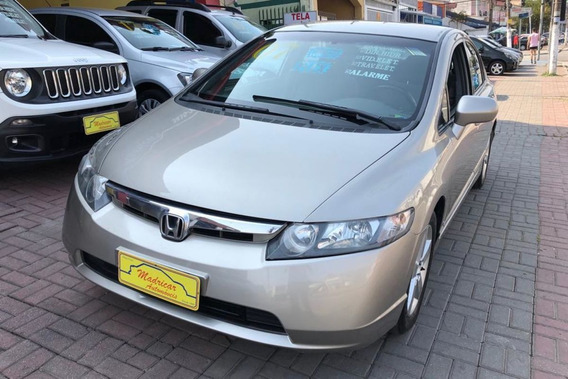 Honda/ Civic 2007 Lxs 1.8 Flex Completo !