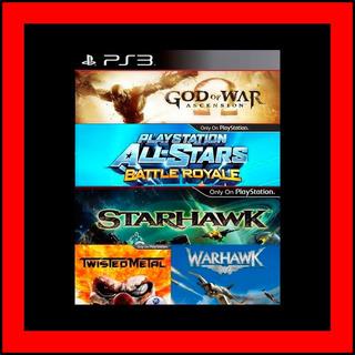 5 Juegos En 1 Multiplayer Mayhem Bundle Ps3