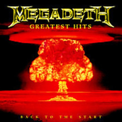 Cd Megadeth Greatest Hits Back To The Star