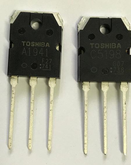 Par 2sa1941 + 2sc5198 Toshiba Original * A 1941 C 5198