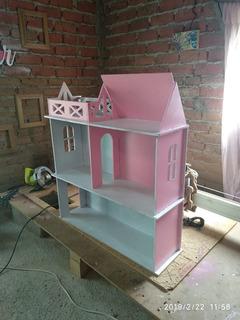 Casa Para Barbie- Muñecas 3 Pisos