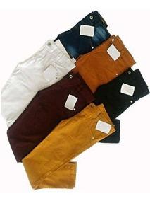 4 Calça Jeans E Brim Infantil Menino Masculino, Criança