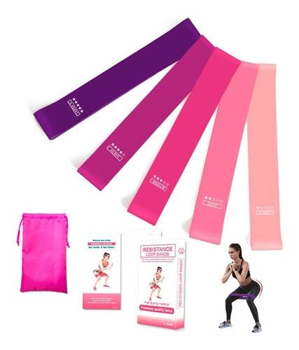 Imagen 1 de 9 de Ligas De Resistencia Banda De Resistencia Ejercicio Yoga Kit