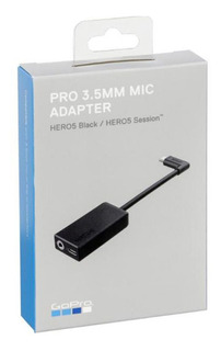 Adaptador De Microfone Gopro Hero5,6 E 7 + Microfone Moto