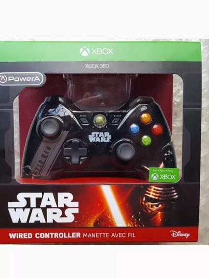 Controle Xbox 360 Star Wars Kylo Ren Disney Edição Limitada