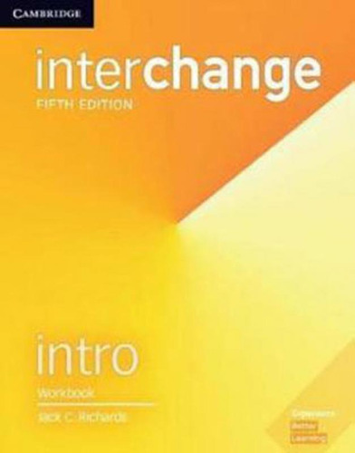 Imagem 1 de 1 de Interchange Intro - Workbook - Fifth Edition