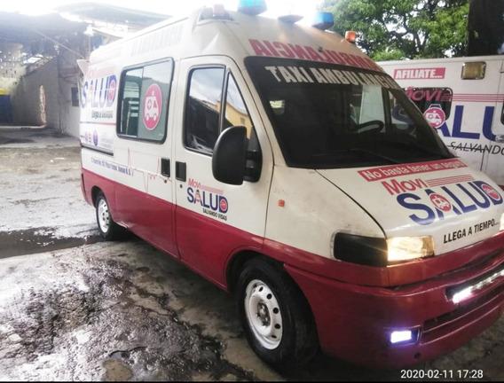 Vendo Ambulancia Fiat Ducato 200, De Oportunidad $450,000.00