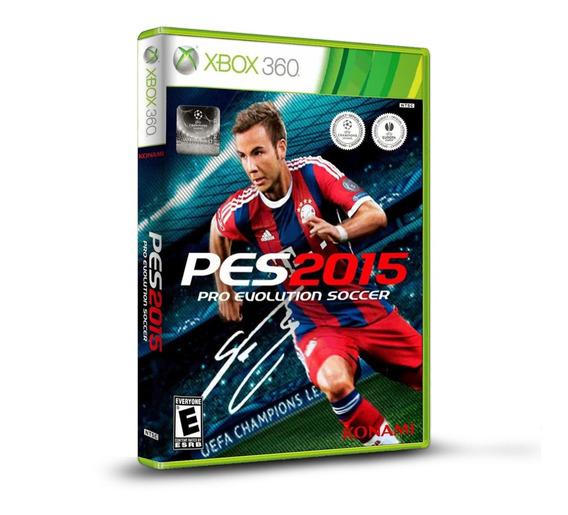 Pes Pro Evolution Soccer 2015 - Original Para Xbox 360 Novo
