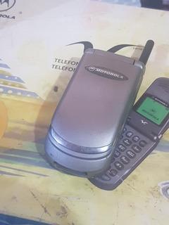 Telefone Epico Vulcan Motorola Cdma V8160 Com Manual