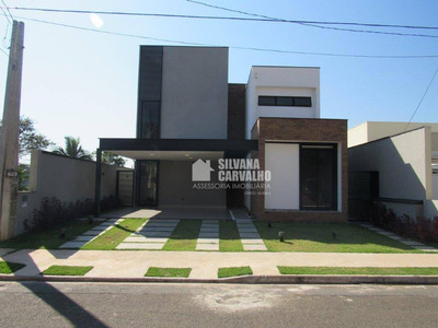 Casa Para Venda No Residencial Lagos D