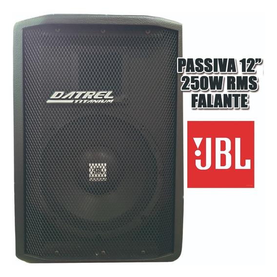 Caixa De Som Passiva Acústica Jbl 250w Driver Titanium Datre