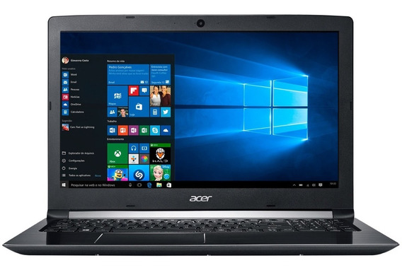 Notebook Acer Amd A12 8gb 1tb Placa De Video - Novo